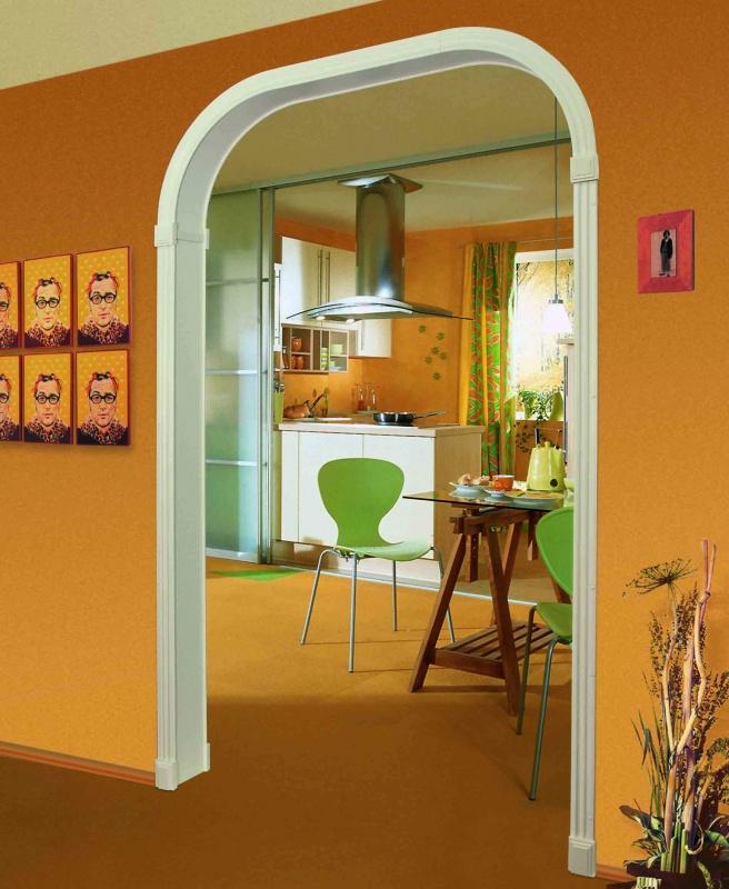 как арки из гипсокартона фото дизайн для кухни жесткость устойчивость кровли